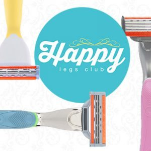Happy Legs Club Women's Razor Subscription Box