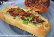 Home Chef August 2016 Review - Breakfast Egg Boats