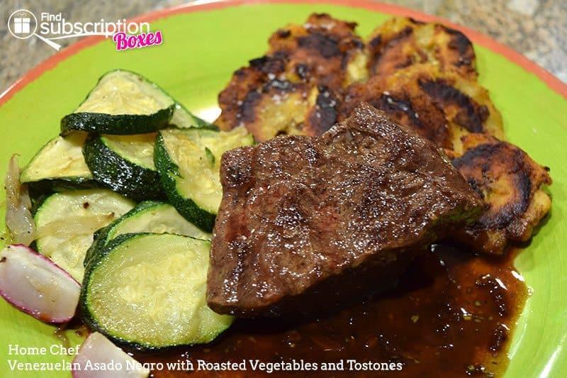 Home Chef August 2016 Review - Venezuelan Asado Negro