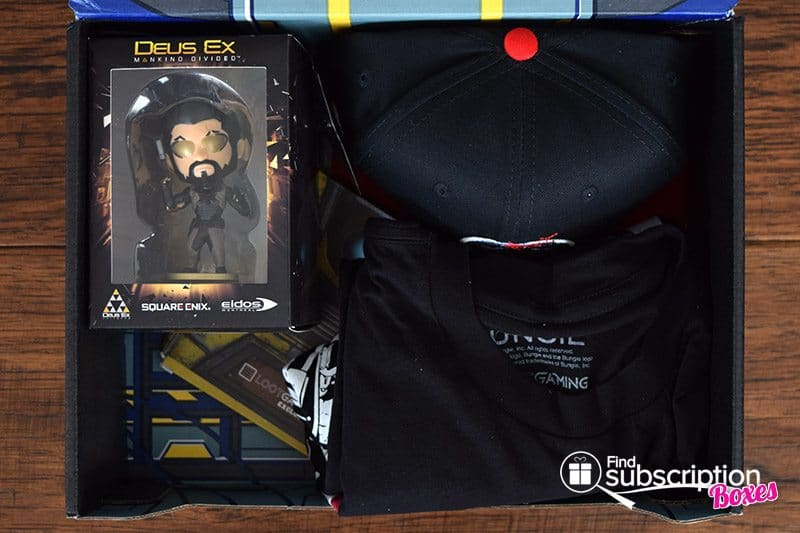Loot Gaming August 2016 MECHA Crate Review - First Look