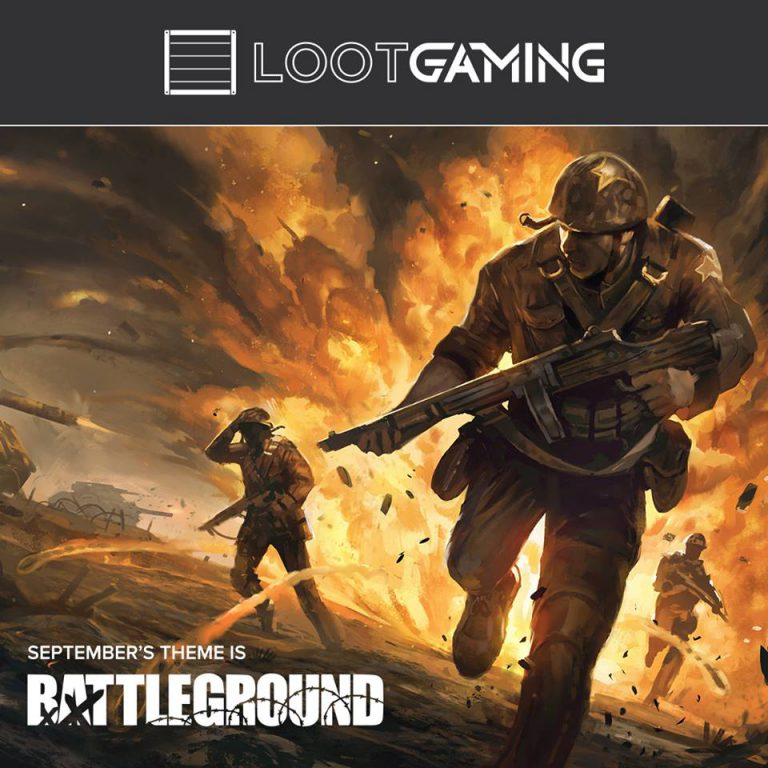 Loot Gaming Septemer 2016 Theme - Battleground
