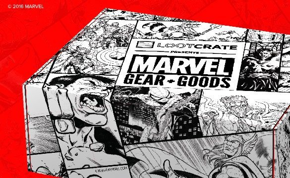 Marvel Gear + Goods by Loot Crate