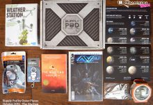 October 2015 Supply Pod The Martian Review - Box Contents