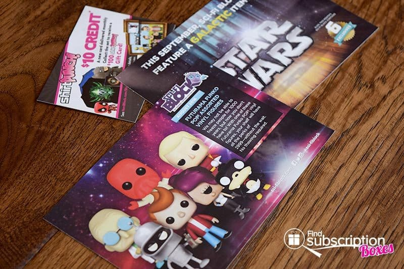 Sci-Fi Block August 2016 Review - Product Cards