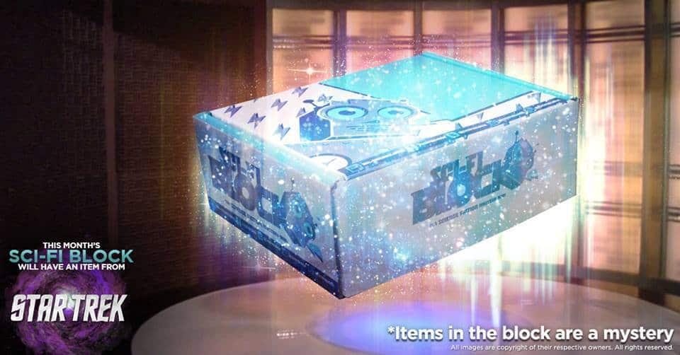 Sci-Fi Block September 2016 Box Spoiler - Star Trek