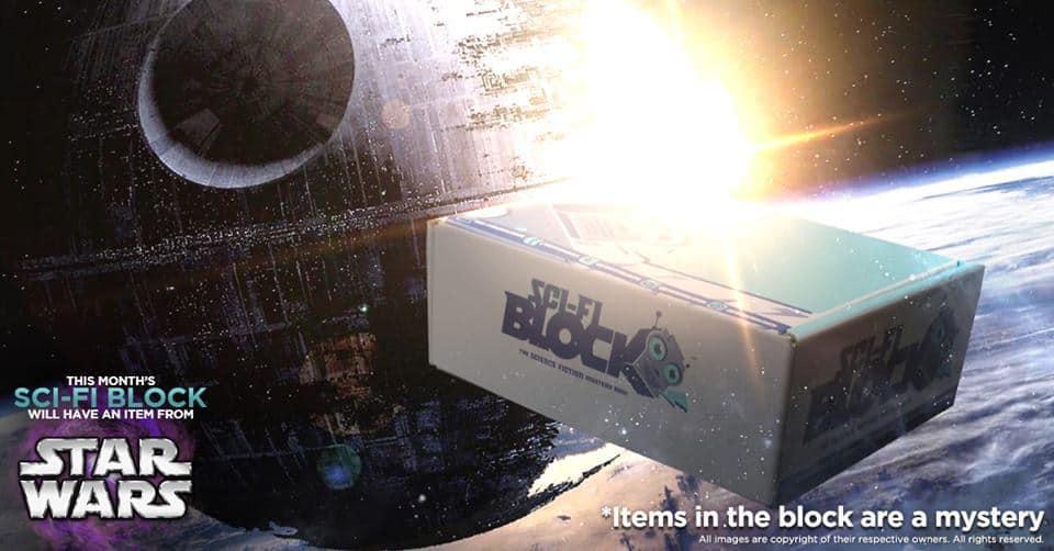Sci-Fi Block September 2016 Box Spoiler - Star Wars