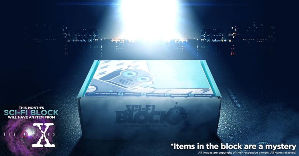 Sci-Fi Block September 2016 Box Spoiler - The X-Files