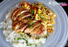September 2016 Blue Apron Review - Blackened Chicken