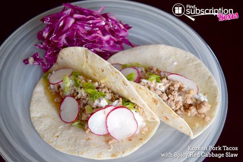 Blue Apron September 2016 Review - Pork Tacos