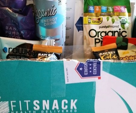 September 2016 Fit Snack Review - Box Contents