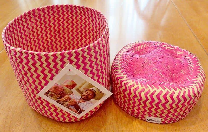 September 2016 GlobeIn Artisan Gift Box Review - Basket