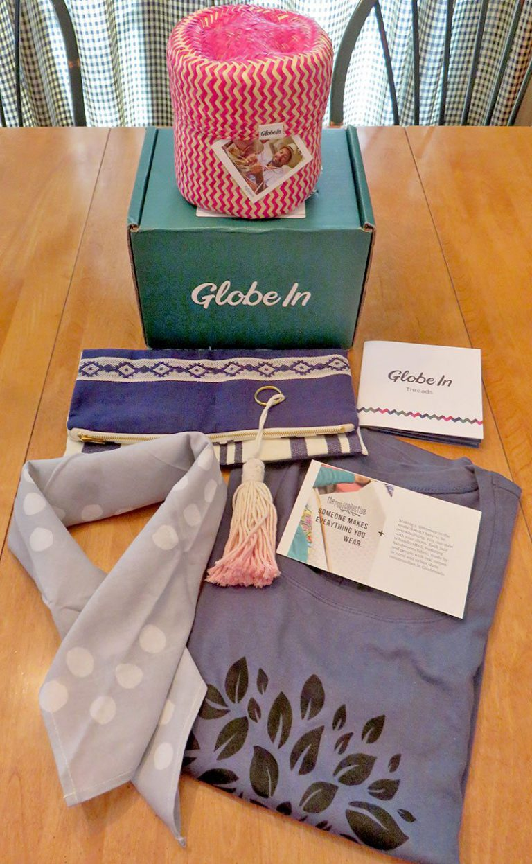 September 2016 GlobeIn Artisan Gift Box Review - Box Contents
