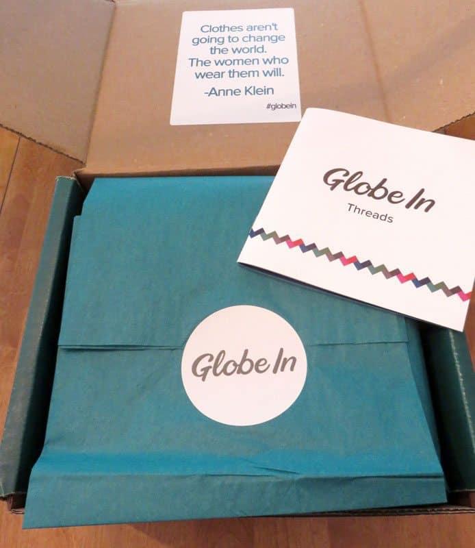 September 2016 GlobeIn Artisan Gift Box Review - Box