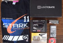September 2016 Loot Crate Review - SPEED Crate - Box Contents