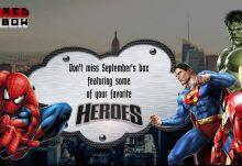 September 2016 Powered Geek Box Theme - Heroes