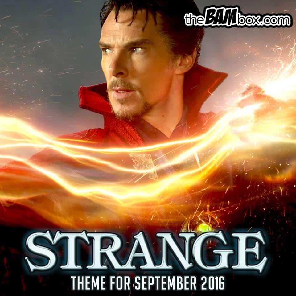 September 2016 The Bam Box Spoilers - Dr. Strange