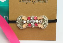 Your Bijoux Box September 2016 Box Spoiler Deepa Gurnani Ponytail Holder