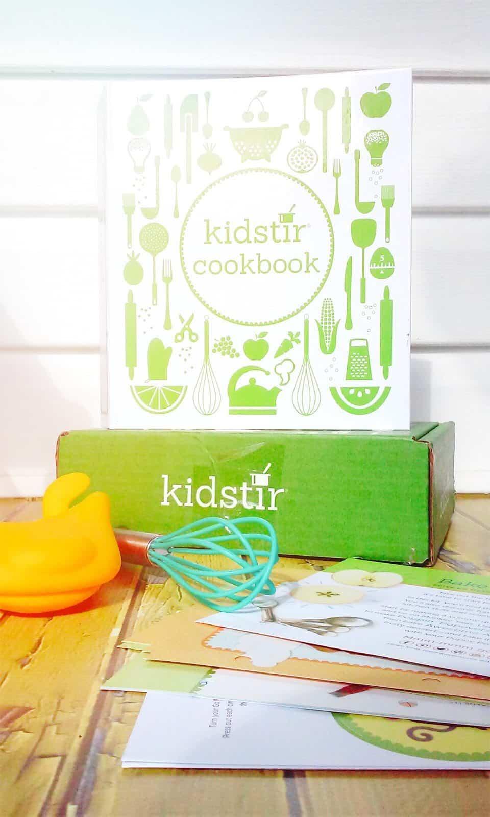September 2016 Kidstir Box Review - Cookbook