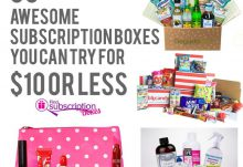 30 Awesome Subscription Boxes You Can Try for $10 or Less