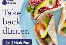 Blue Apron 3 Free Meals