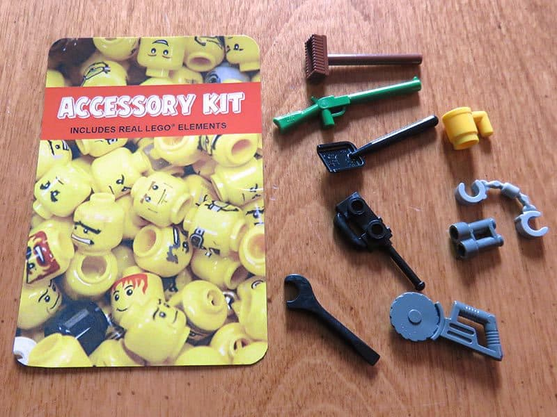 Brick Loot September 2016 Review - Accessory Kit
