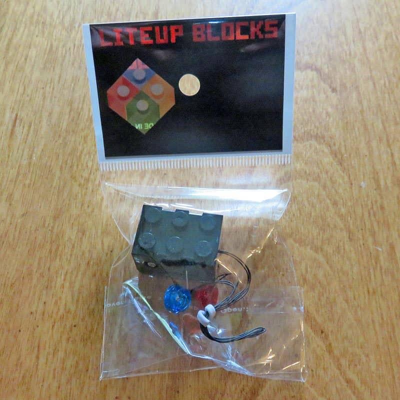 Brick Loot September 2016 Review - Liteup Bricks