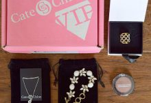 Cate & Chloe VIP Box October 2016 Review - Box Contents