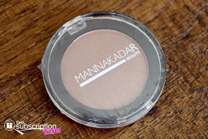 Cate & Chloe VIP Box October 2016 Review - Manna Kadar Eyeshadow
