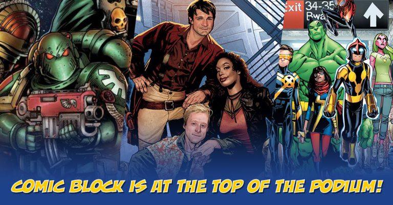 Comic Block October 2016 Box Spoiler Exclusives