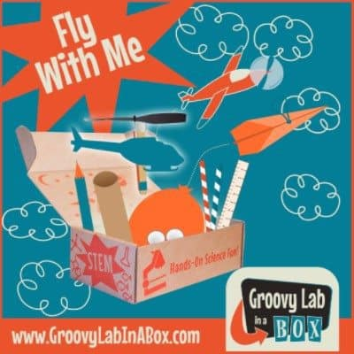 Groovy Lab in a Box October 2016 Theme - Fly With Me