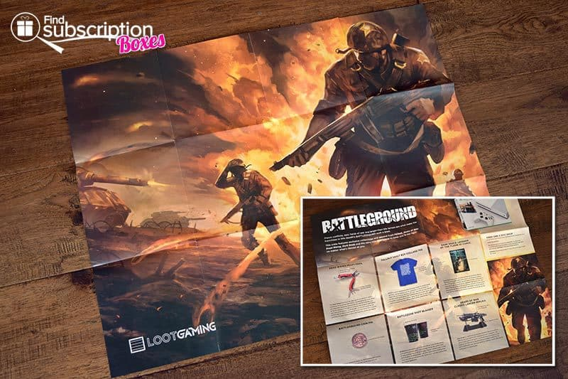 September 2016 Loot Gaming Review - Battleground - Poster