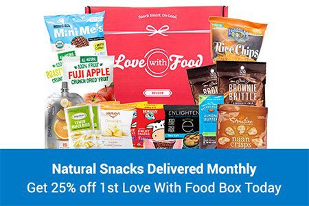 Love With Food 25% Off
