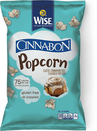 Love With Food November 2016 Box Spoiler - Wise Cinnabon Popcorn
