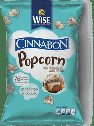 Love With Food November 2016 Box Spoiler - Wise Cinnabon Popcorn