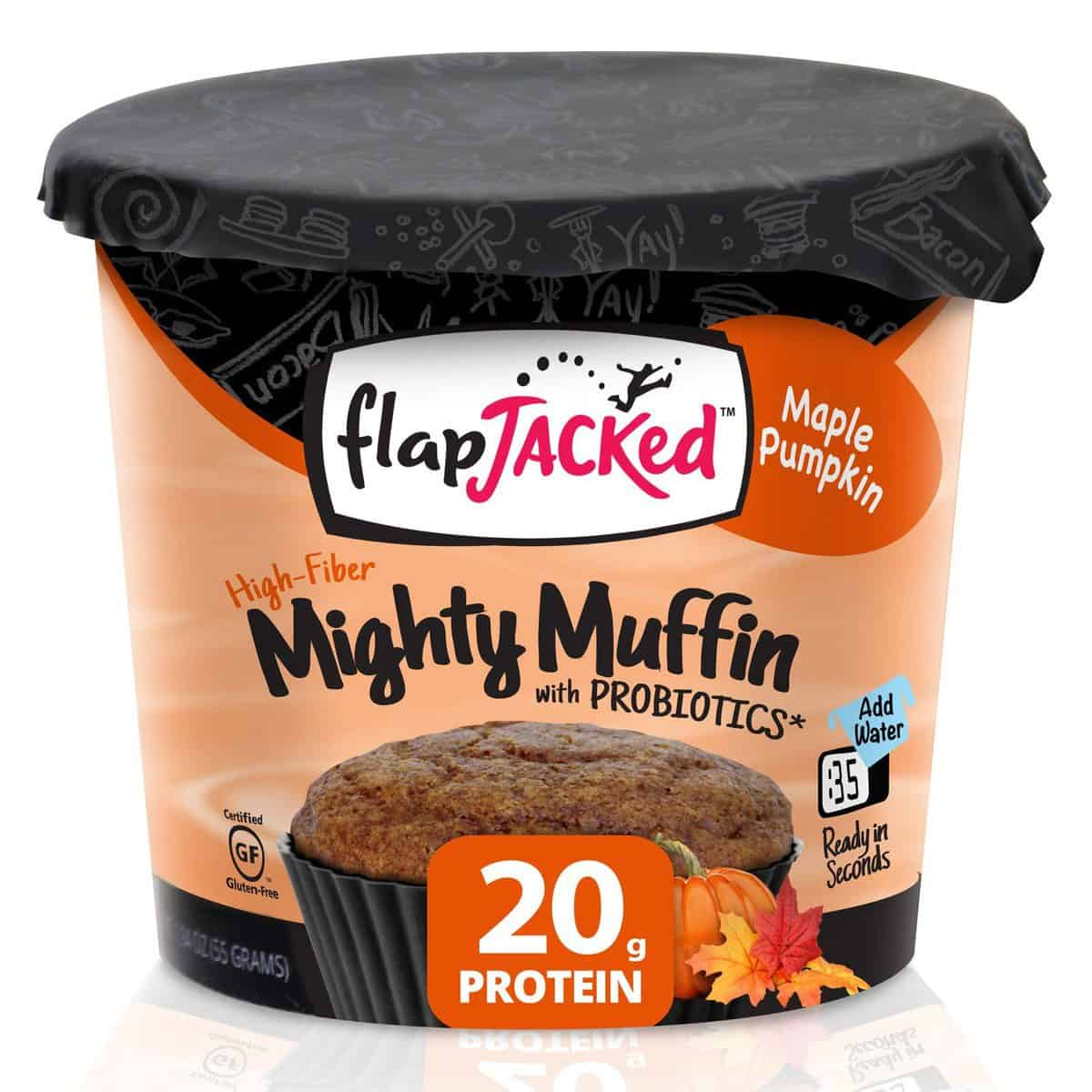Love With Food November 2016 Box Spoiler - FlapJacked Maple Pumpkin Mighty Muffin