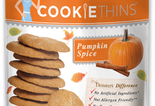 Love With Food November 2016 Box Spoiler - Mrs. Thinsters Cookie Thins