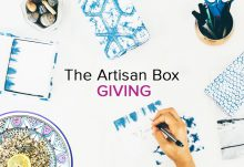 November 2016 GlobeIn Artisan Box Theme - Giving
