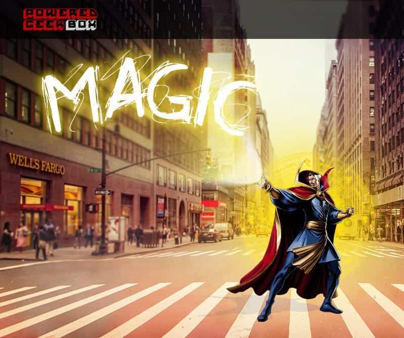 November 2016 Powered Geek Box Theme - Magic