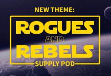 November/ December 2016 Supply Pod Theme - Rouges and Rebels