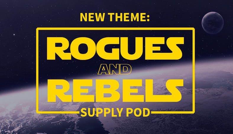 November/ December 2016 Supply Pod Theme - Rouges and Rebels
