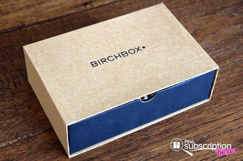 October 2016 Birchbox Man Review - Box