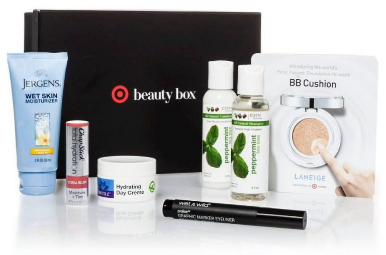 October 2016 Target Beauty Box
