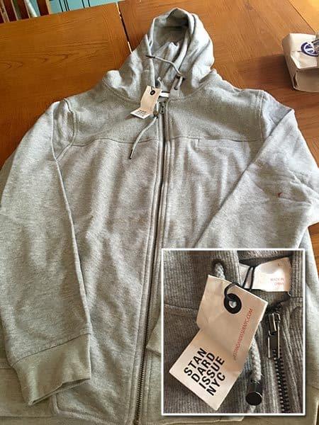 October 2016 Trendy Butler Review - Standard Issue NYC Sweatshirt