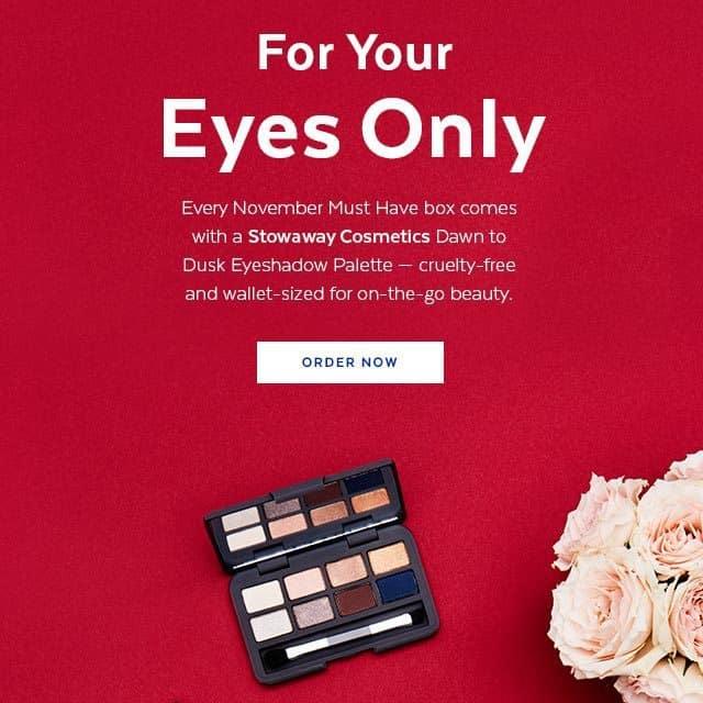 November 2016 POPSUGAR Must Have Box Spoiler - Stowaway Cosmetics