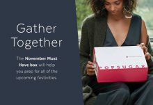 November 2016 POPSUGAR Must Have Box Theme - Gather Together