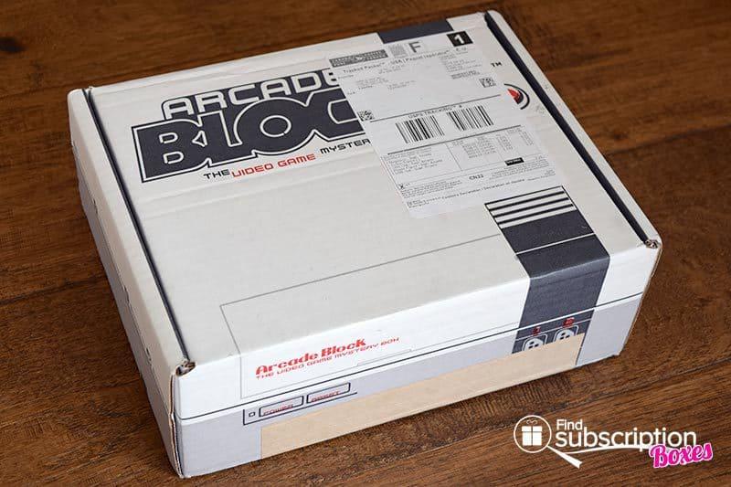September 2016 Arcade Block Review - Box