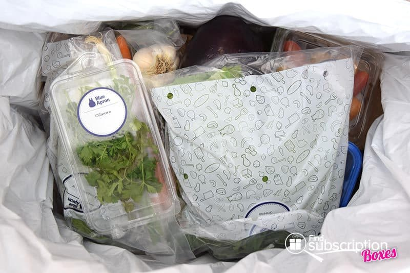 September 2016 Blue Apron Review - First Look