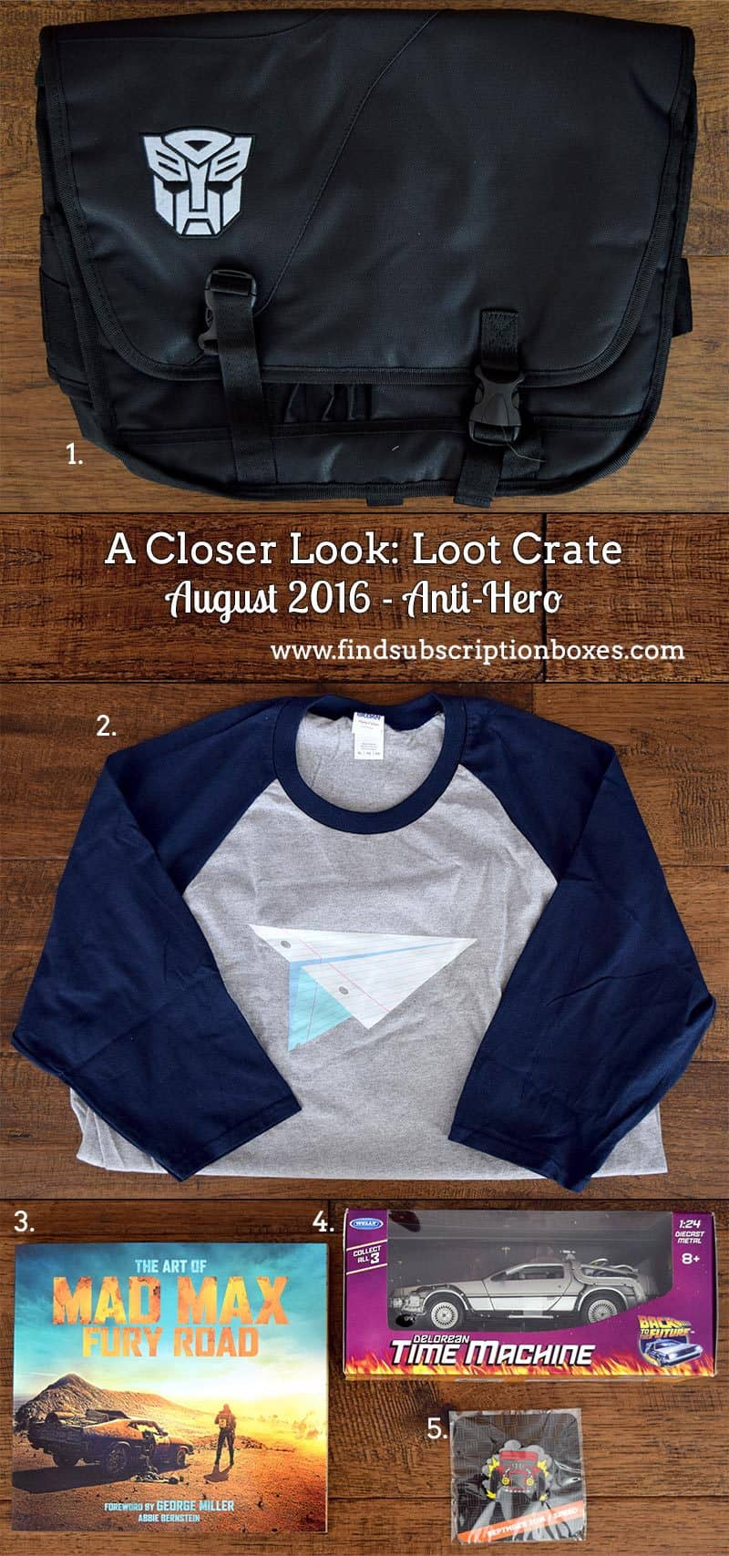September 2016 Loot Crate DX Review - Speed - Inside the Box