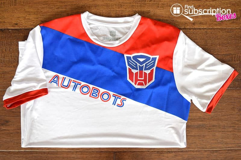 September 2016 Loot Wearable - Transformers