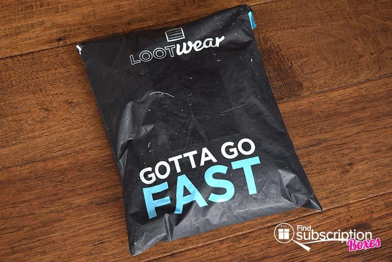 September 2016 Loot Wear - Speed - Mailer